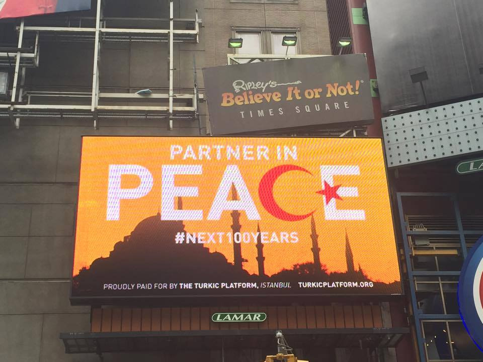 Peace Times Square