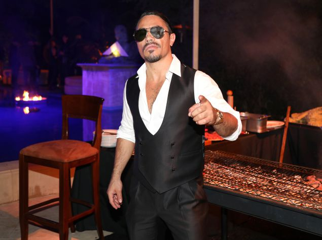 Nusret Gökçe, A.K.A. Salt Bae. Getty Images for Ciroc